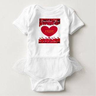 """Body Para Bebê """"Recorde o amor"""", parte superior infantil do"""