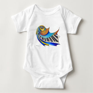 Body Para Bebê Redemessia - piano espiral