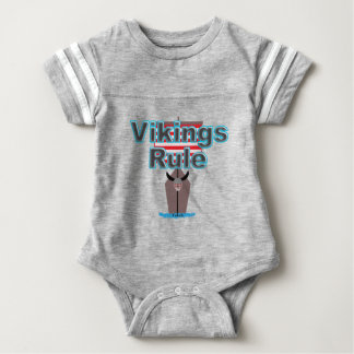 Body Para Bebê Regra de Viquingues