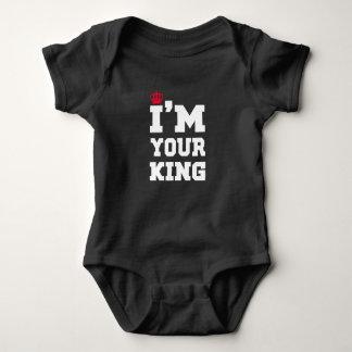 Body Para Bebê Rei