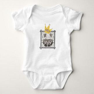 Body Para Bebê Rei Sudoku Babygro