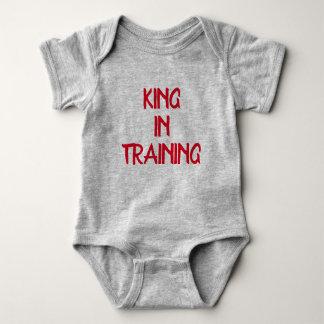 Body Para Bebê Rei Treinamento Menino Bodysuit