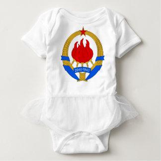 Body Para Bebê República federal socialista do emblema de