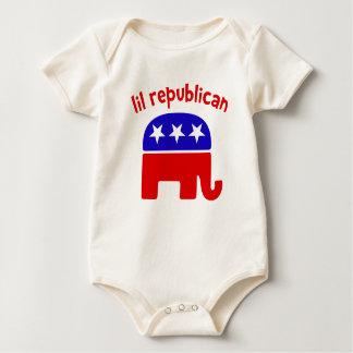 Body Para Bebê Republicano de Lil