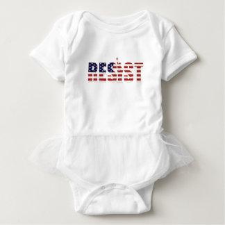 Body Para Bebê Resista a liberdade da resistência do Anti-Trunfo