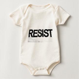 Body Para Bebê RESISTA - o texto handmade por mim RW
