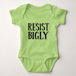 Body Para Bebê Resista roupa da resistência do trunfo de Bigly o