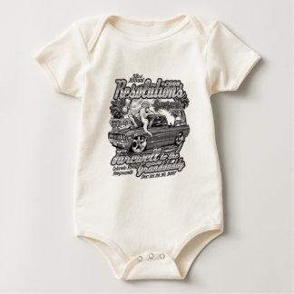 Body Para Bebê Reso produtos pretos & brancos de 2008 multi