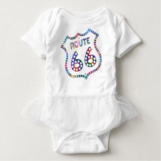 Body Para Bebê Respingo da cor da rota 66!