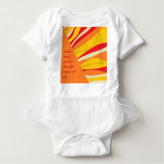 Body Para Bebê respire profundamente