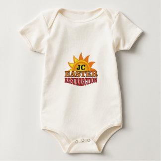 Body Para Bebê ressurreição da páscoa do jc