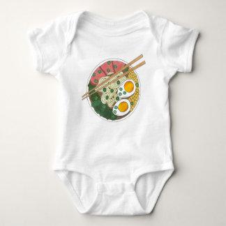 Body Para Bebê Restaurante japonês Foodie da comida da bacia dos