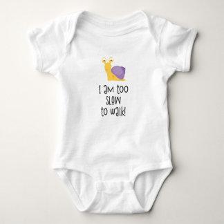 Body Para Bebê Retarde demasiado para andar!