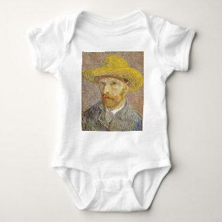 Body Para Bebê Retrato de auto de Vincent van Gogh com arte do