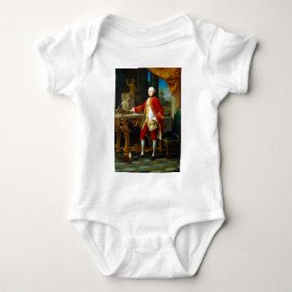 Body Para Bebê Retrato de Pompeo Batoni de um homem novo