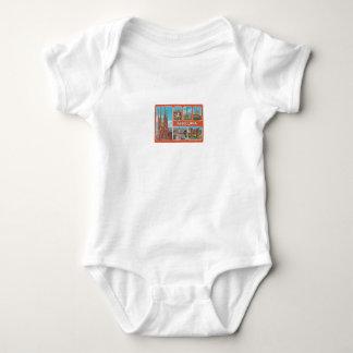 Body Para Bebê Retrospecto de Barcelona