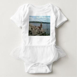 Body Para Bebê Rio Mississípi de Riverwalk Dubuque Iowa