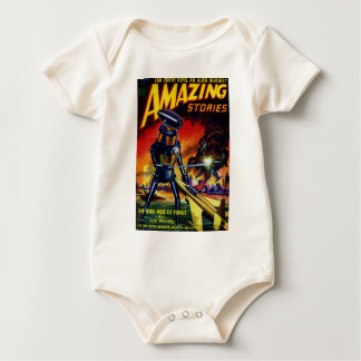 Body Para Bebê Robô estrangeiro mau