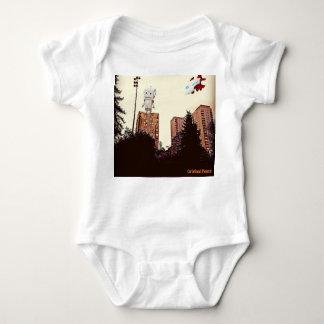 Body Para Bebê Robô original da paz contra o plano