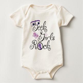 Body Para Bebê Rocha das meninas do geek
