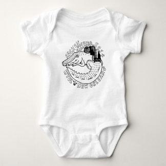 Body Para Bebê Rocha de WTUL 2014 no Creeper da criança da