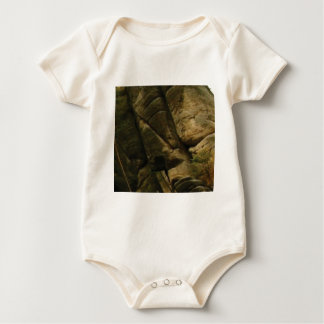 Body Para Bebê rochas cinzentas do burburinho