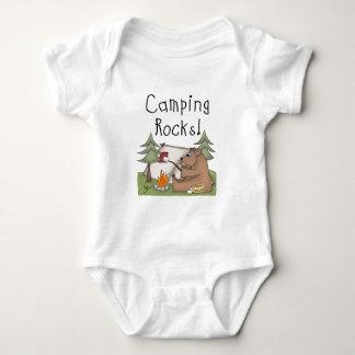 Body Para Bebê Rochas de acampamento