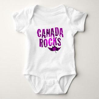 Body Para Bebê Rochas de Canadá
