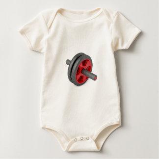 Body Para Bebê Roda de tonificação abdominal