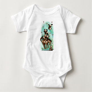 Body Para Bebê Rodeio acrobático