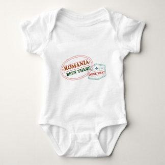 Body Para Bebê Romania feito lá isso
