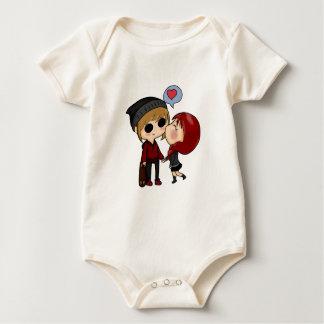 Body Para Bebê romântico