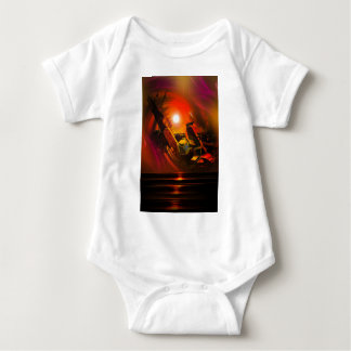 Body Para Bebê Romantismo de vela