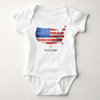 Body Para Bebê Romper cultivado em casa