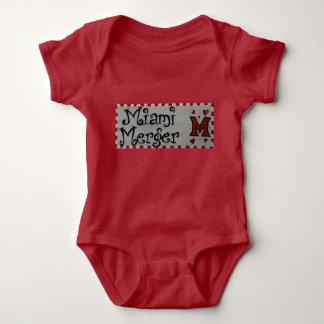 Body Para Bebê Romper da fusão de Miami do bebê
