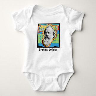 Body Para Bebê Romper do bebê da canção de ninar de Brahms do pop