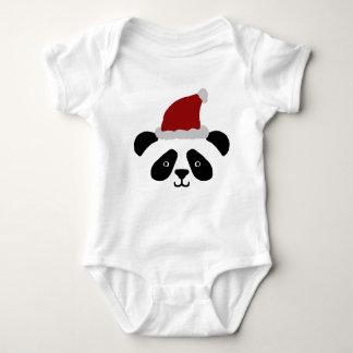 Body Para Bebê Romper do bebê da panda do papai noel