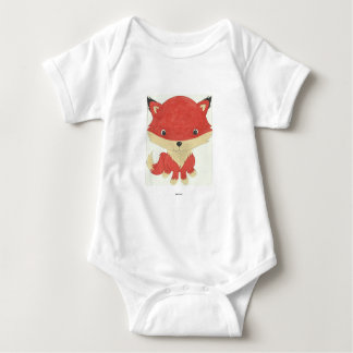 Body Para Bebê Romper do bebê do Fox do bebê