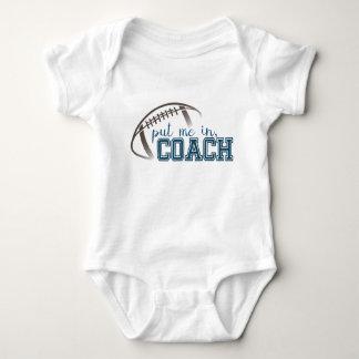 Body Para Bebê Romper do futebol do bebê