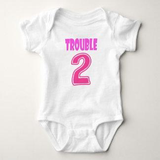 Body Para Bebê Romper gêmeo do problema 2