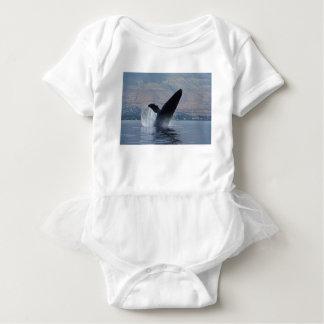 Body Para Bebê rompimento da baleia do humback