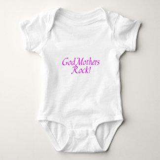 Body Para Bebê Rosa de rocha das madrinha