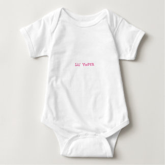 Body Para Bebê ROSA do Bodysuit do bebê de Lil Yooper Michigan