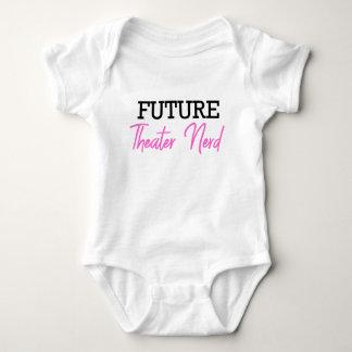 Body Para Bebê Rosa futuro do nerd do teatro