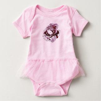 Body Para Bebê Rosas