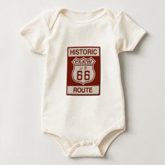 Body Para Bebê Rota 66 de Plew