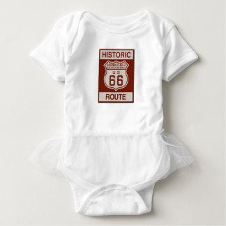 Body Para Bebê Rota 66 de Springfield