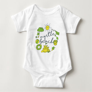 Body Para Bebê Roteiro de Myrtle Beach