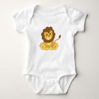 Body Para Bebê Roupa bonito do bebê do leão