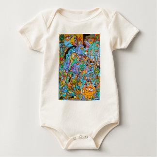 Body Para Bebê Roupa com passeio de The Sun por Lorenzo Traverso